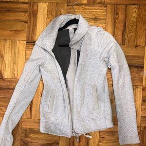 Gorgeous light grey lulu jacket